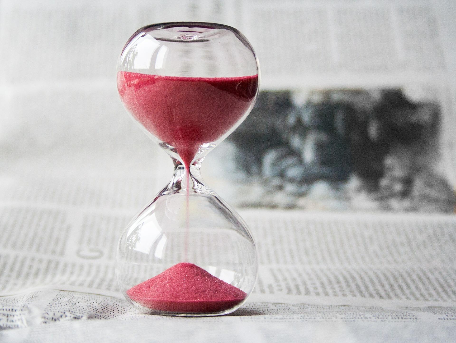 tempo che passa veloce